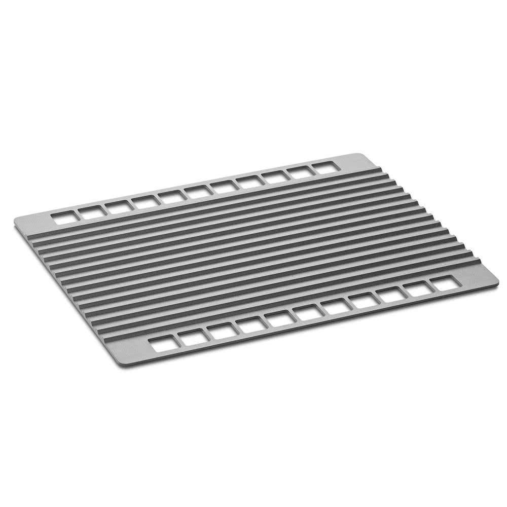 "Merrychef 32Z4053 Panini Cook Plate for eikon™ e2 Series Ovens - 11.81"" x 9.38"", Aluminum"