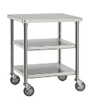 Merrychef STACK36 36-in Single Oven Cart w/ Heavy-Duty Stem Casters, For Single e4