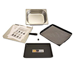 Merrychef START-UPE3 Start-Up Accessory Kit, (1) Tray, (1) Rack, (1) Sheet, (1) Pan