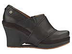 Mozo, Inc. 3731 BLK 6 Womens Divine Shoes w/ Elasticized Entry & 3-in Heel, Black, Size 6