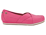 Mozo, Inc. 3734 BEET 8 Womens Sports Shoes w/ Midsole Cushioning & Lightweight, Canvas, Beet, Size 8