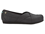 Mozo 3734 BLK 11 Womens Sports Shoes w/ Midsole Cushioning & Lightweight, Canvas, Black, Size 11
