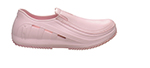 Mozo 3742 6 Sharkz Uniframe Pink Women's Work Shoe w/ Gel Insole, Slip Resistant, Size 6