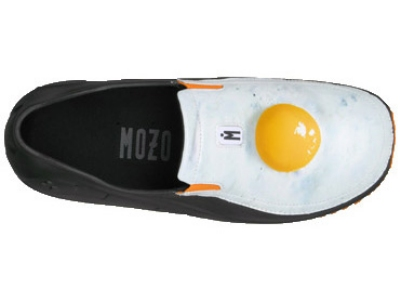 Mozo, Inc. 3814 - 7 Sharkz Egg Men's Uniframe Chef Shoes w/ Gel Insole, Size 7