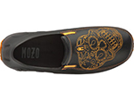 Mozo 3821 BKO 11 Mens Lightweight Shoes w/ Ventilation & Gel Insoles, Orange Sugar Skull, Size 11