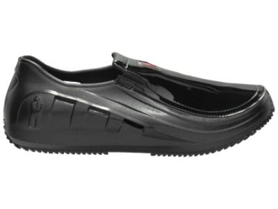 Mozo 3828 - 9 Sharkz Black Patent Men's Uniframe Work Shoe w/ Gel Insole, Size 9