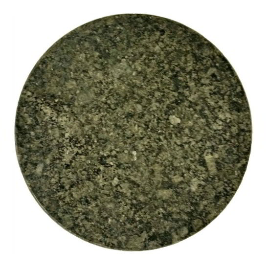 "Art Marble 24RD G203 24"" Round Granite Table Top - Indoor/Outdoor, Uba Tuba"