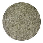"Art Marble Furniture 36 RD G212 36"" Round Granite Table Top - Indoor/Outdoor, Giallo Gold"