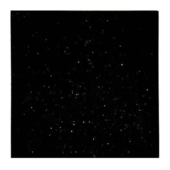 """Art Marble Furniture G206-30X60 30"""" x 60"""" Rectangular Granite Table Top - Indoor/Outdoor, Black Galaxy"""