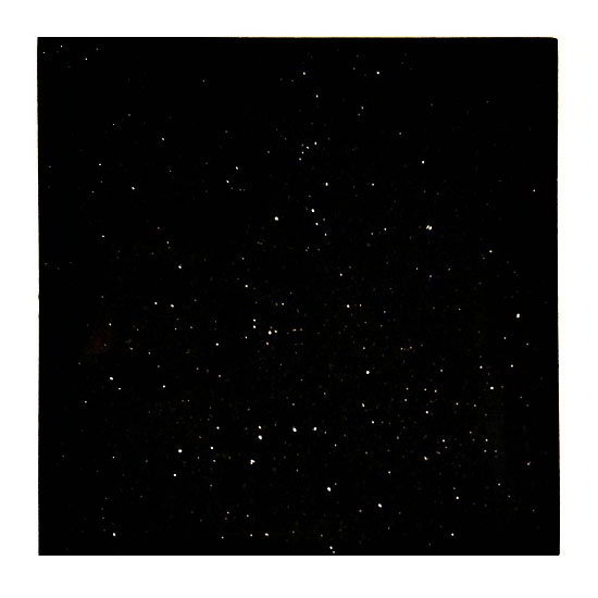"Art Marble G206-36X36 36"" x 36"" Square Granite Table Top - Indoor/Outdoor, Black Galaxy"