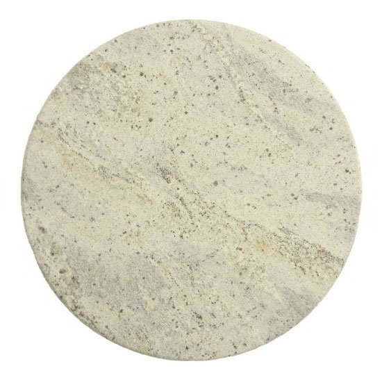 "Art Marble G208-36RD 36"" Round Granite Table Top - Indoor/Outdoor, Kashmir White"