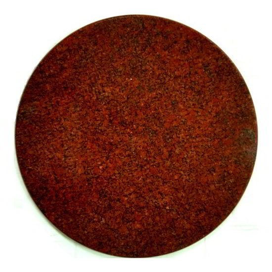 "Art Marble Furniture G210-24RD 24"" Round Granite Table Top - Indoor/Outdoor, Ruby Red"