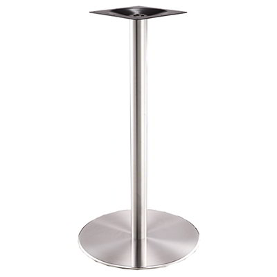 "Art Marble SS14-23H 40.75"" Round Base - Indoor/Outdoor, Bar Height, Stainless"