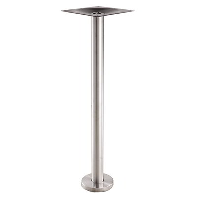 "Art Marble SS15-7H 40.75"" Base - Indoor/Outdoor, Floor Mount, Stainless"