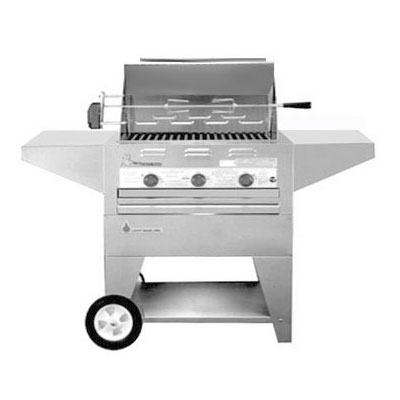 "Big Johns Grills & Rotisseries 210-28M Mobile 28"" Grill"
