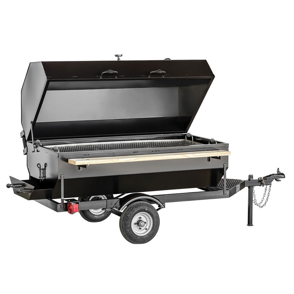Big Johns Grills & Rotisseries 6SDG 6-ft Single Door Charcoal Grill