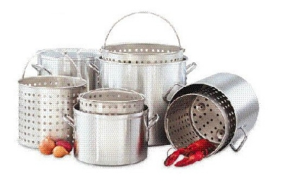 Big Johns Grills & Rotisseries 80 QT. POT 80-qt Aluminum Stock Pot