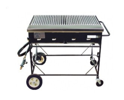 Big Johns Grills & Rotisseries A2CC-LPSS 4-Burner Gas Grill w/ Stainless Steel Grates