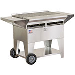 Big Johns Grills & Rotisseries A2CC-SSE 4-Burner Stainless Steel Elite Gas Grill