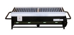 Big Johns Grills & Rotisseries A2P-LPCI 4-Burner Portable Gas Grill w/ Cast Iron Grates
