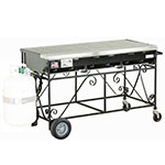 Big Johns Grills & Rotisseries A3CC-LPSS 6-Burner Gas Grill w/ Stainless Steel Grates