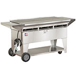 Big Johns Grills & Rotisseries A3CC-SSE 6-Burner Stainless Steel Elite Gas Grill