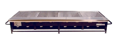 Big Johns Grills & Rotisseries A4P-LPSS 8-Burner Portable Gas Grill w/ Stainless Steel Grates
