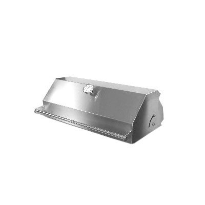 Big Johns Grills & Rotisseries FA-4 HOOD Roll-Top Hood For A4TS