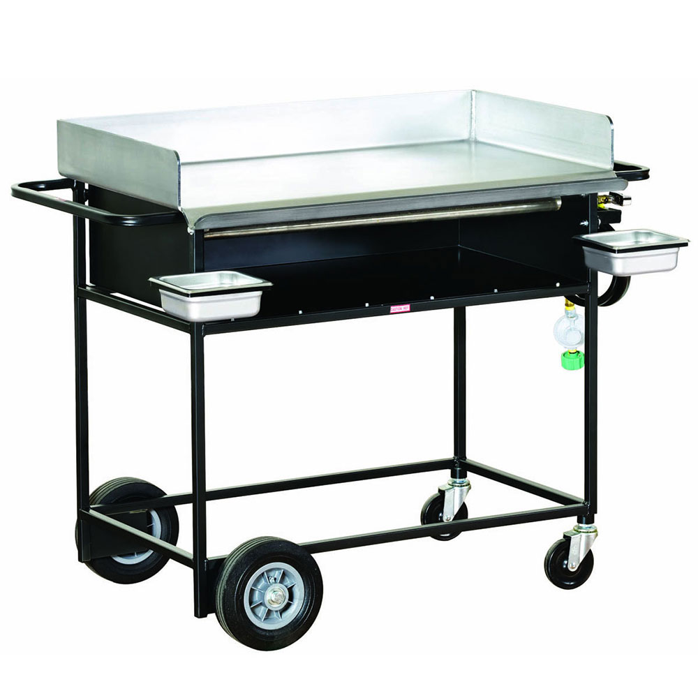 "Big Johns Grills & Rotisseries PG-36S 20 x 36"" Griddle w/ Stand"