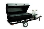 Big Johns Grills & Rotisseries RW6SDG 6-ft Single Door Towable Grill, LP