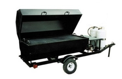 Big Johns Grills & Rotisseries RW6SDR 6-ft Single Door Rotisserie, LP