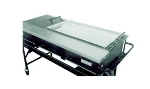 "Big Johns Grills & Rotisseries SG2 15 x 30"" Steel Griddle"