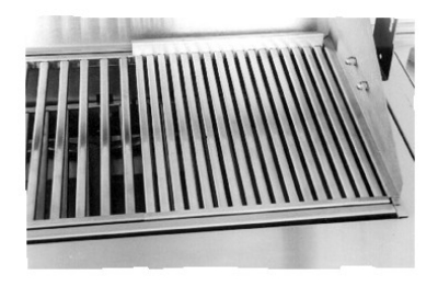 Big Johns Grills & Rotisseries VG-A Stainless Steel Vegetable Grate