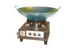 "Big Johns Grills & Rotisseries WS-26 26"" Wok for Big 60 Utility Stove"