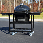 Primo Grills LG_PKG Primo Oval LG 300 Grill Package w/ Cart, Black