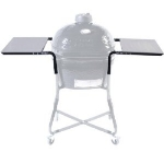 Primo PRM303 Stainless Steel Side Table For Kamado w/ 2-Shelves