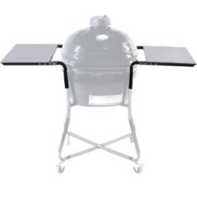 Primo Grills PRM303 Stainless Steel Side Table For Kamado w/ 2-Shelves