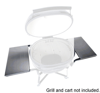 Primo Grills PRM309 Stainless Steel Side Tables For XL Oval Cart