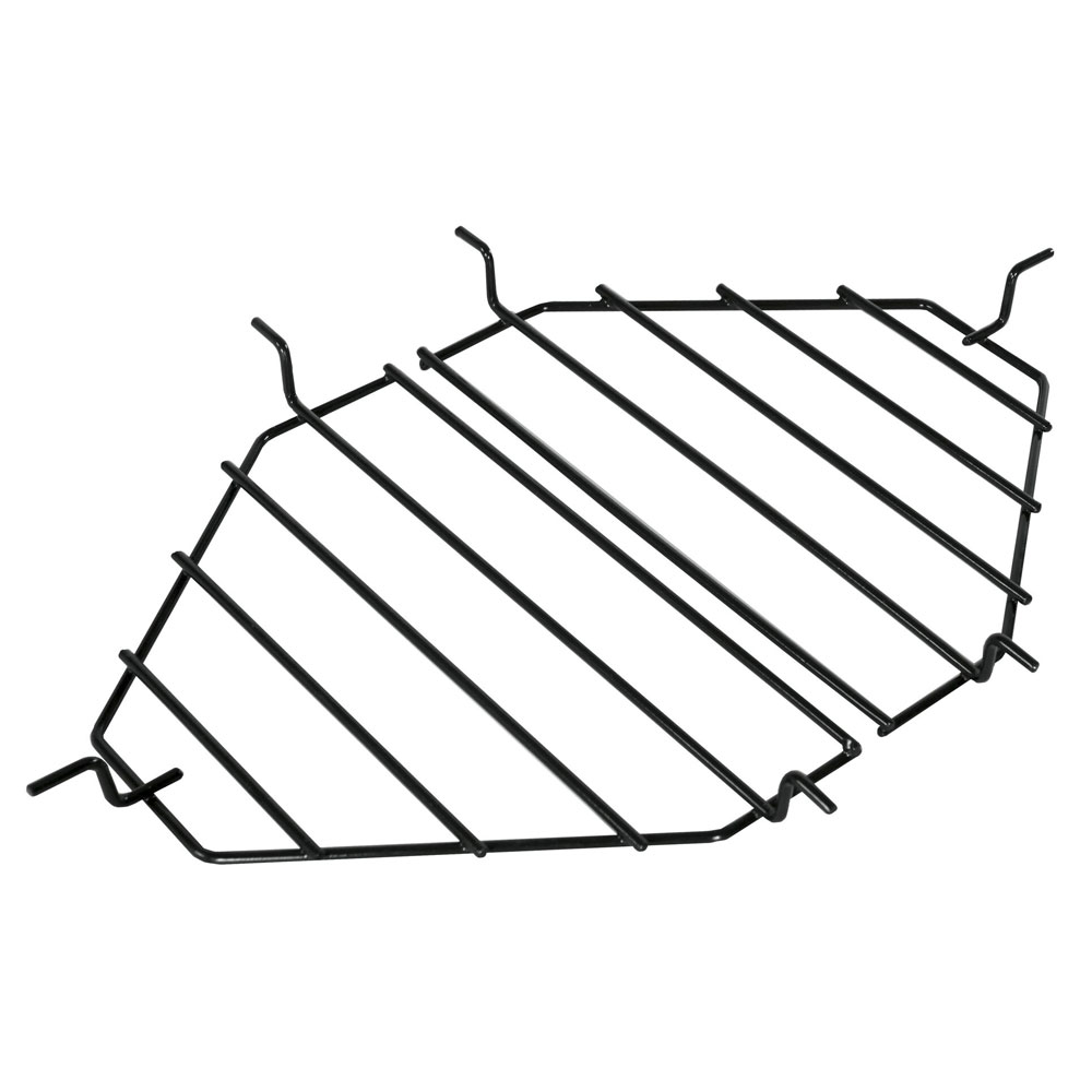 Primo Grills PRM313 Roaster Drip Pan Rack For Oval Junior