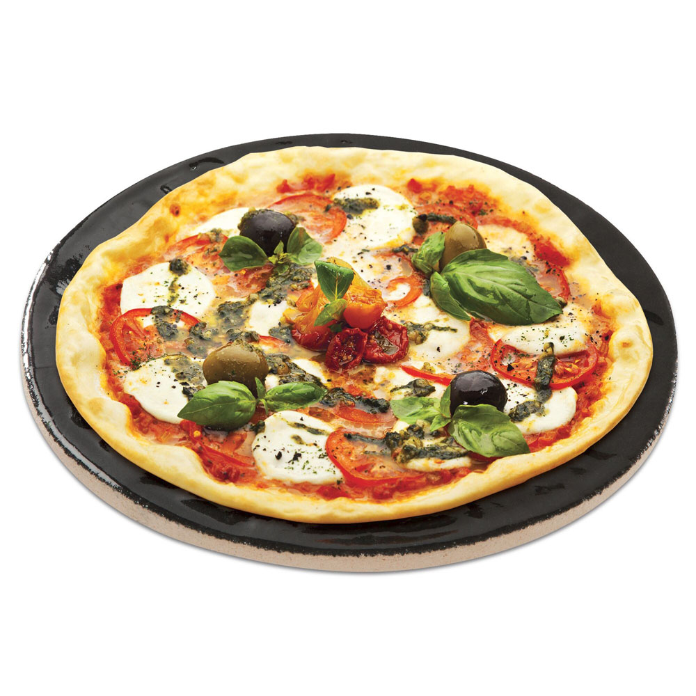 "Primo PRM338 16"" Porcelain Glazed Pizza Baking Stone"