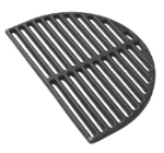 Primo Grills PRM363 Half Moon Cast Iron Searing Grate For Oval Junior