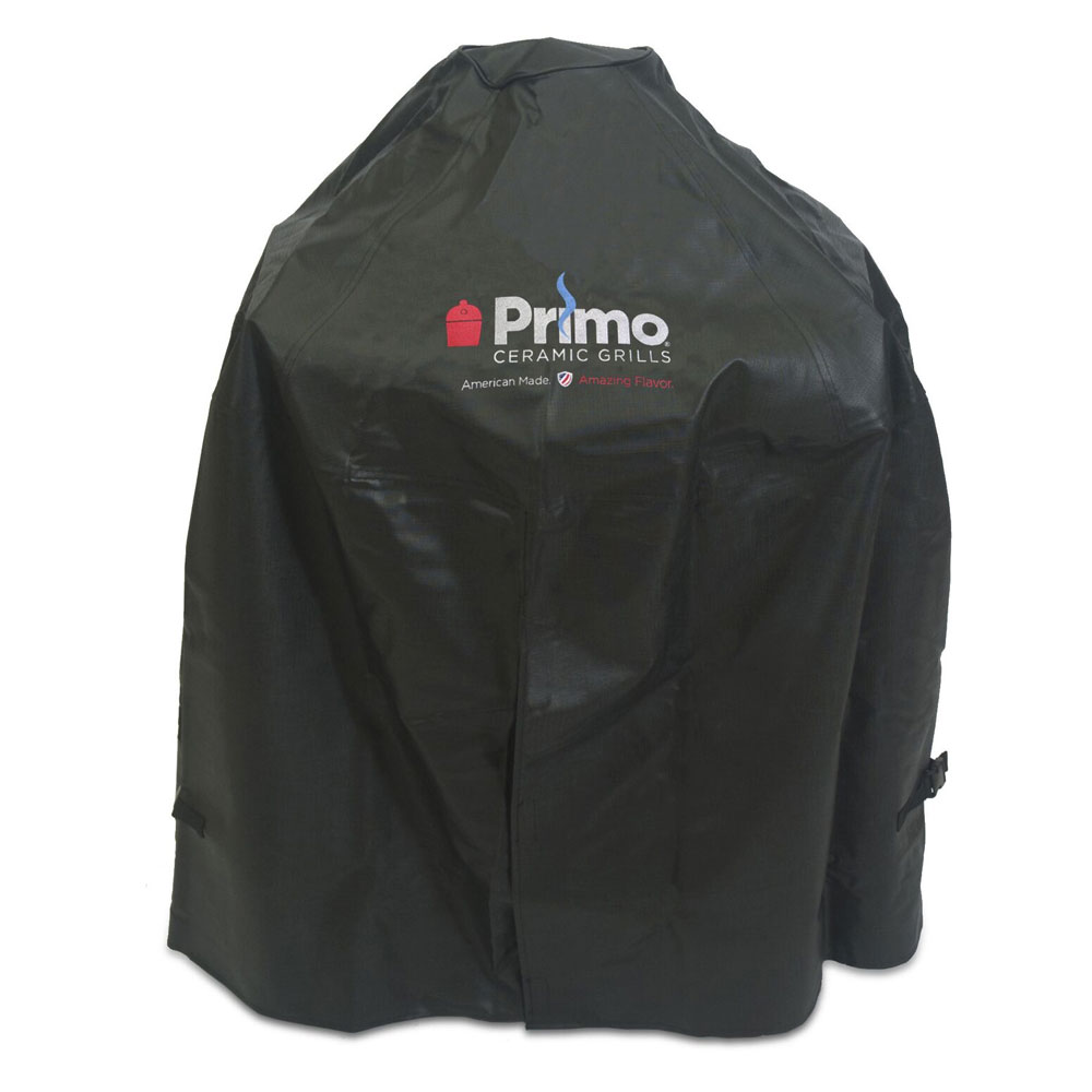 Primo PRM413 Grill Cover For Oval Junior In Cradle
