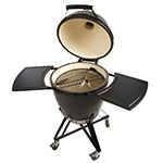 Primo PRM773 Kamado w/ Metal Base, Side Tables, Ash Tool & Grill Lifter