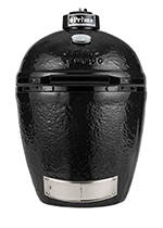 Primo PRM779 Round Kamado Grill w/ 280-sq/in Cooking Surface, Black