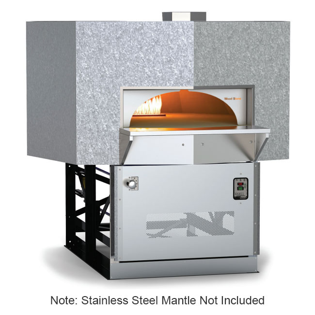 Wood Stone MTRAINIER7 Stone Hearth Oven - Cast-Ceramic/Steel