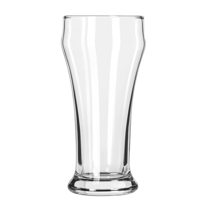 Libbey 1013HT 10-oz Pilsner Bulge Top Glass - Safedge Rim, Heavy Base