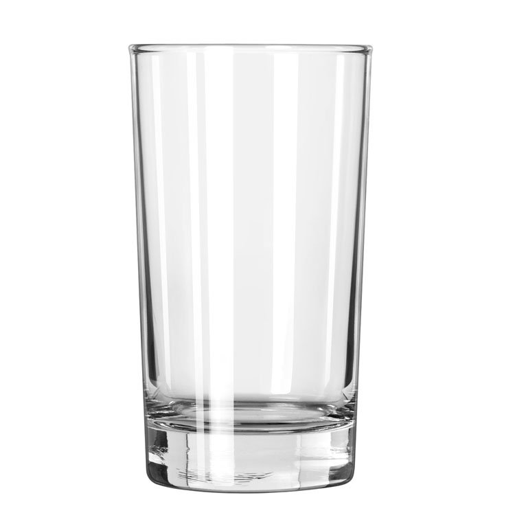 Libbey 123 7-oz Heavy Base Hi-Ball Glass - Safedge Rim Guarantee