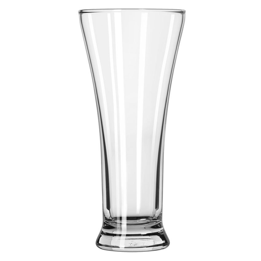 Libbey 1240HT 10-oz Flared Top Pilsner Glass - Safedge Rim