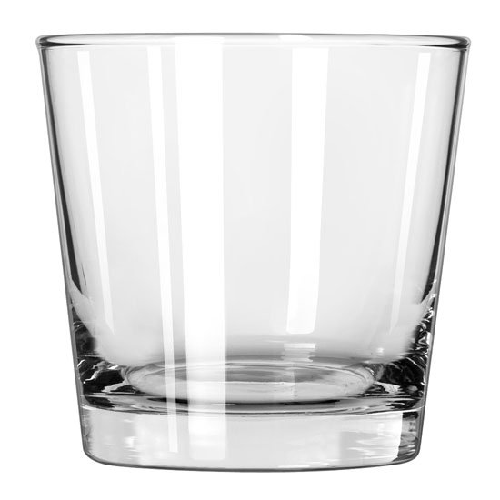 Libbey 128 9-oz Heavy Base Old Fashion Glass - Safedge Rim Guarantee