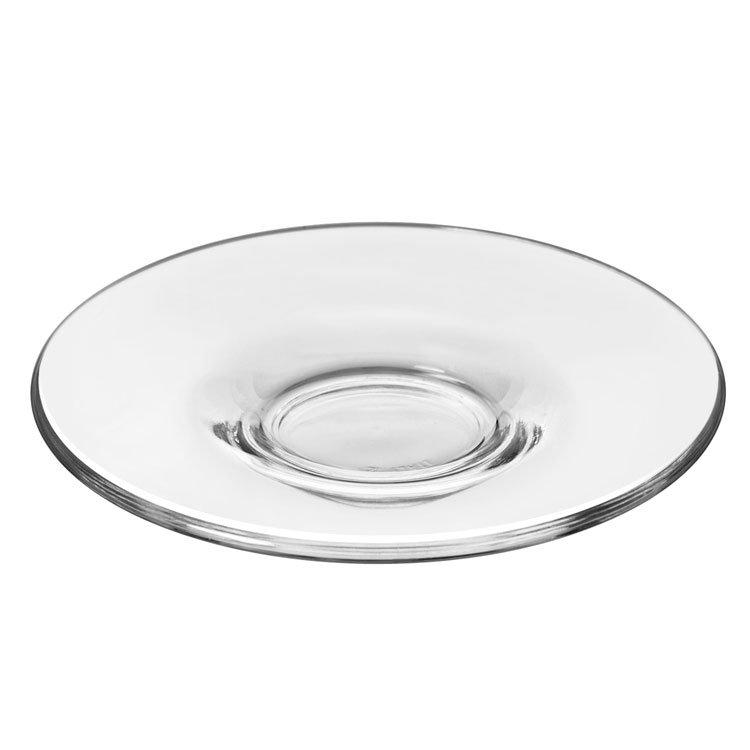 Libbey Glass 13208919 4.62-oz Ischia Espresso Saucer